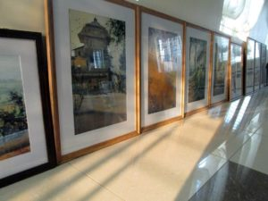 Plan to get your paintings framed well in time
