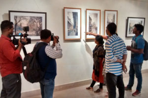 Press covering my solo show