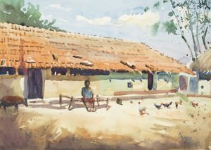 En Plein Air at Baldiha Village