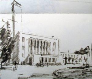 Insti Building Sketch
