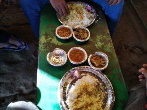 Lunch at Tangarmunda