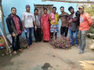 With Ashish, Guru and his Wife
