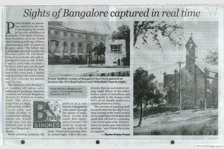 Indian Express coverage of Bengaluru on Location