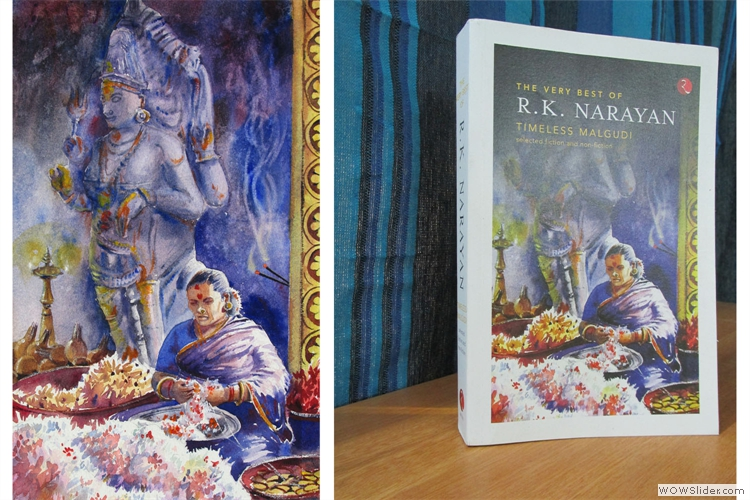 Cover Painting for R.K Narayan collection, Timeless Malgudi