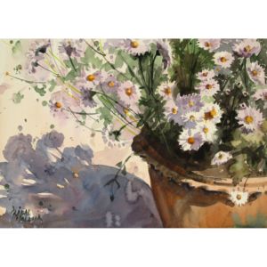 Flowers and Pots I