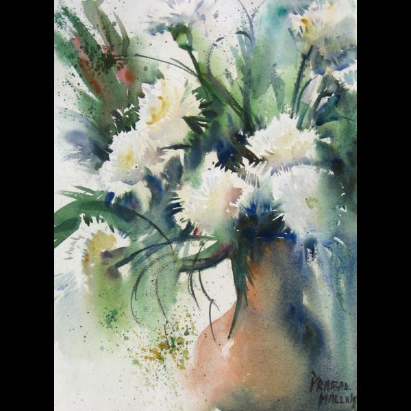 Nine Carnations I