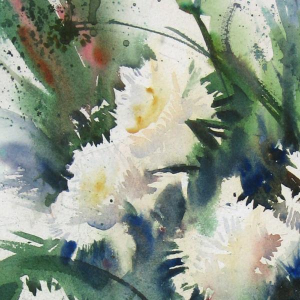 Nine Carnations I Detail 1