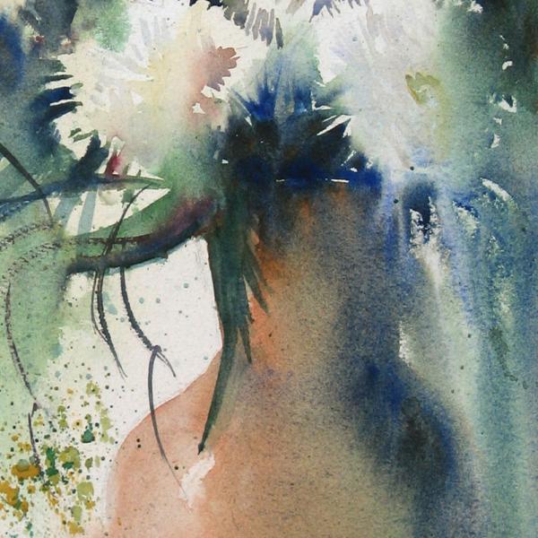 Nine Carnations I Detail 2