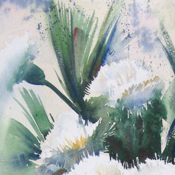 Nine Carnations II Detail 1