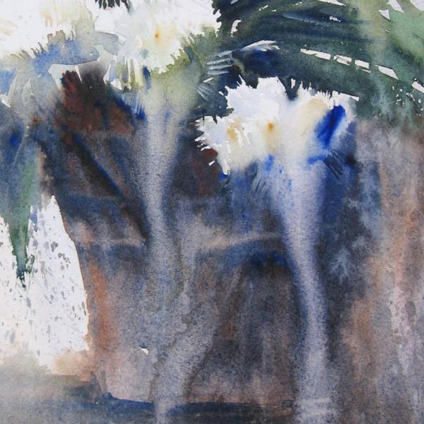 Nine Carnations II Detail 2