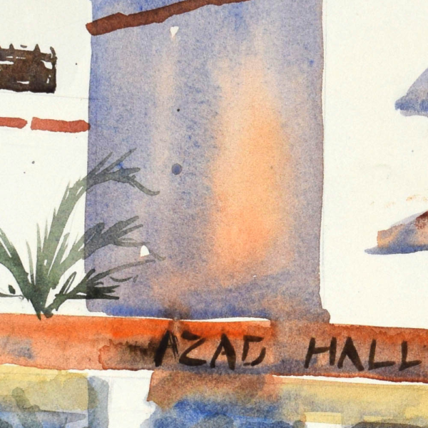 Azad Hall Detail 1