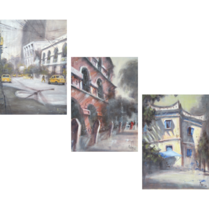 Personality City Triptych