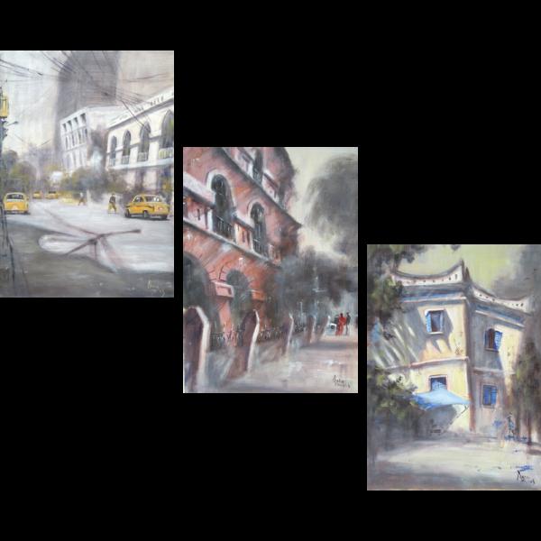 Personality City Triptych